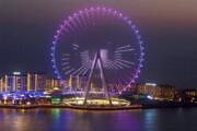 ببینید | افتتاح بلندترین چرخ و فلک جهان در دبی