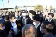 ببینید | ترکی حرف زدن رئیس جمهور در اردبیل