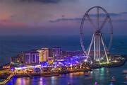 ببینید | نوشیدن قهوه روی بلندترین چرخ و فلک جهان در دبی