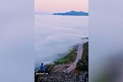 ببینید | تصاویری فوق العاده از اقیانوس ابر در گردنه حیران