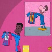 وارث مسی در بارسلونا را ببینید!