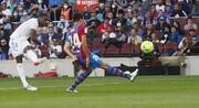 پوکر تاریخی رئال مادرید مقابل بارسا/عکس
