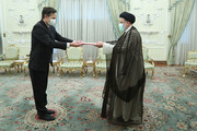 تصاویر   دریافت استوارنامه سفیر جدید سوئیس توسط رئیس جمهور