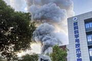 ببینید | انفجار مرگبار در دانشگاه چین