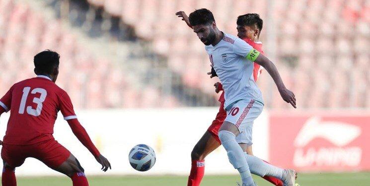استارت تیم امید با برتری ۴ گله مقابل نپال