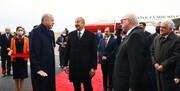 استقبال علیاف از اردوغان در فضولی/عکس
