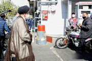 ببینید | حضور سرزده رئیس جمهور در جایگاه سوخت میدان فردوسی تهران