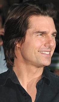 The Roman  With a sloping tip, Tom Cruise's shows ambition.jpg